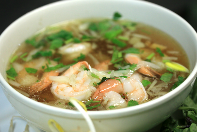 Shrimp Phở